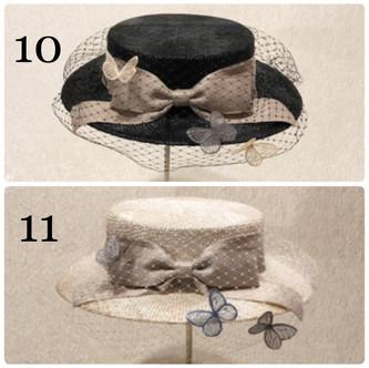 リュミエール ドゥ プランタンのドレスハット