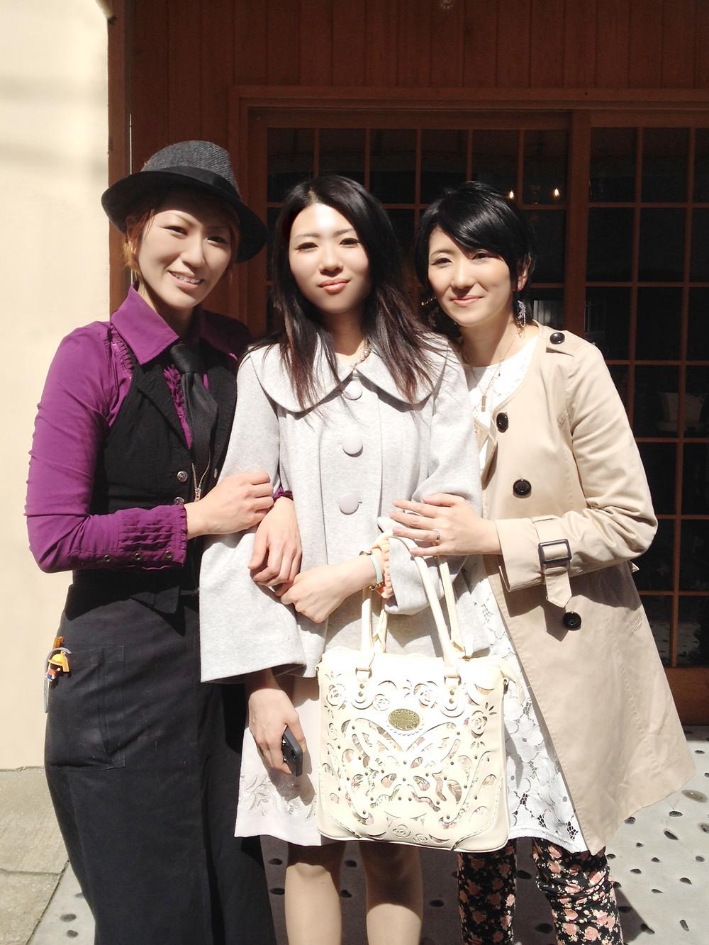 松井さん姉妹と