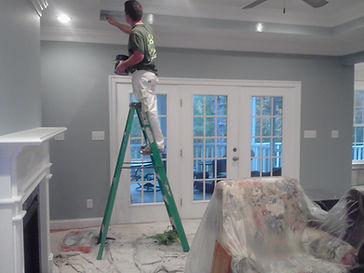 Immanuel Cleaning exterior painting