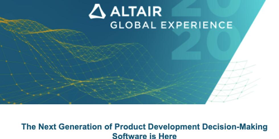 Altair 2020 Global Virtual Summit
