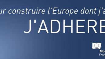 Adhérez au Mouvement Européen !