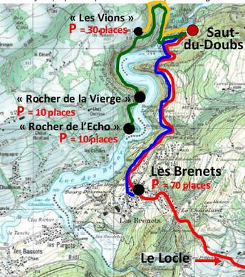 Une marche pour l'Europe au Saut du Doubs le 29 mai 2016  !