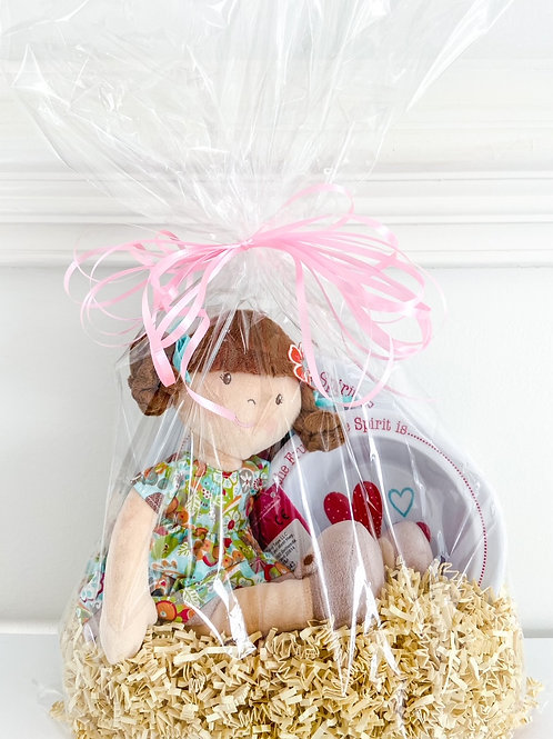 Doll & Fruit of the Spirit Dinnerware Bundle