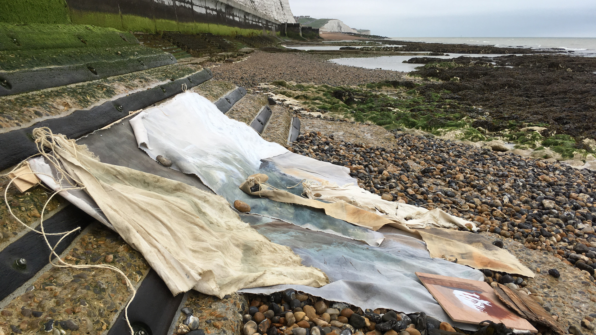 Rottingdean and Selsey canvases