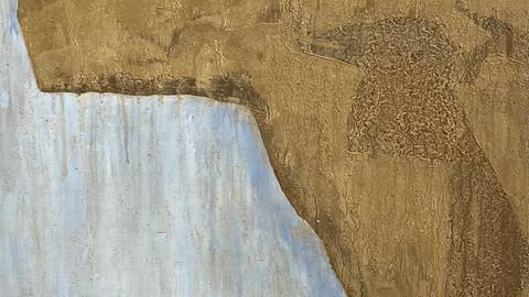Rockpainting 1, Burton Cliff