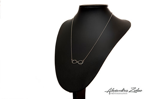 """""""Infinity"""" necklace"""