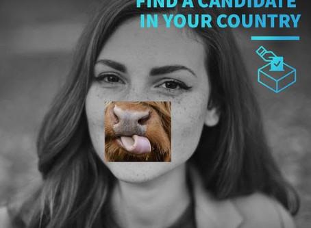 Ψήφισε και για τα ζώα - #Vote4Animals