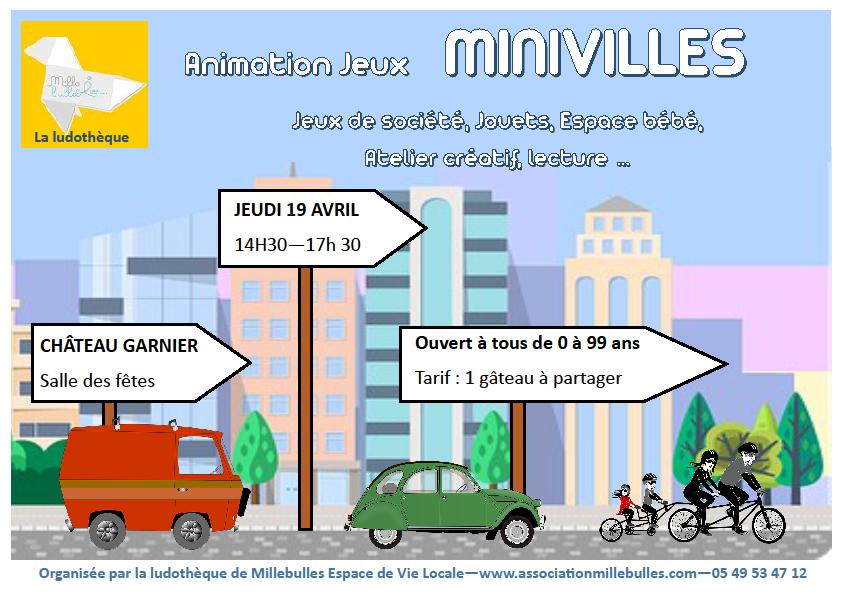 affiche minivilles