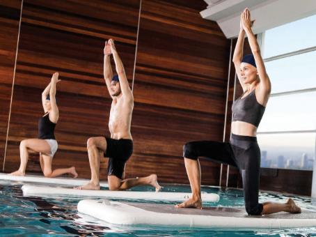 Watfit: la tendencia acuática para tonificar todo el cuerpo
