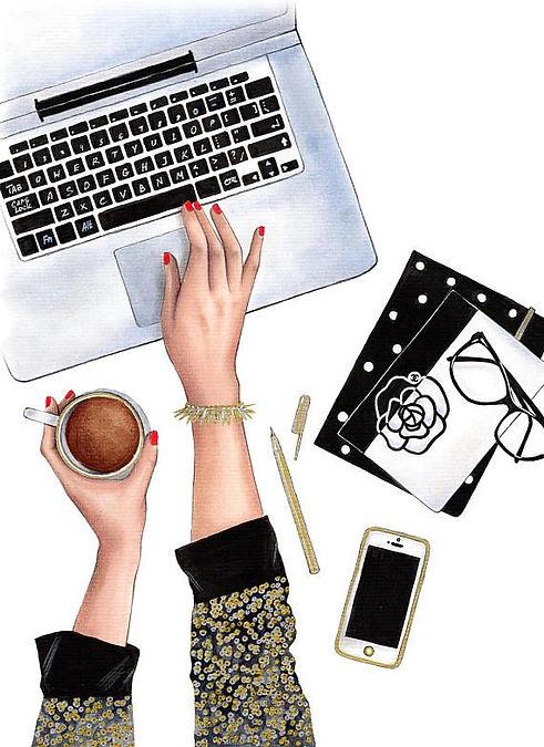 Instant download Fashion Illustration Fa