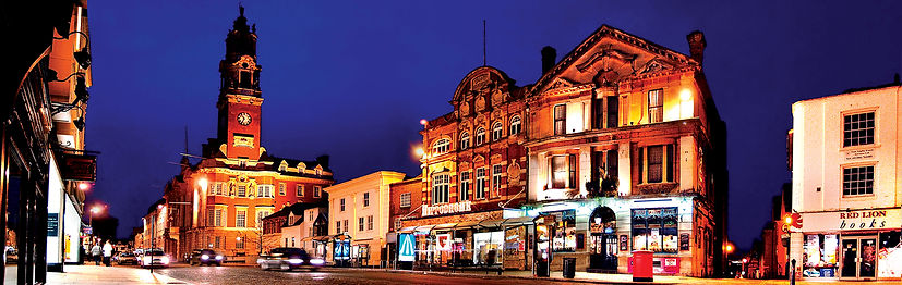 Colchester Town centre, Colchester, Essex, UK