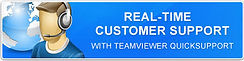 Real-Time Customer support with teamviewer quicksupport
