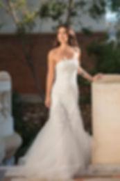 Robe de mariée sirène en guipure et de t