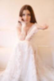Robe de mariée bohème chic sur mesure e