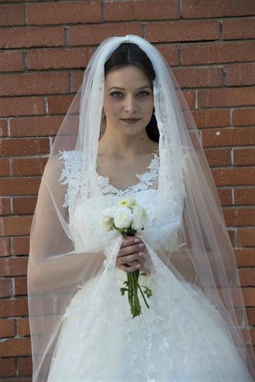 Robe de mariée Daïana en dentelle à Marseille