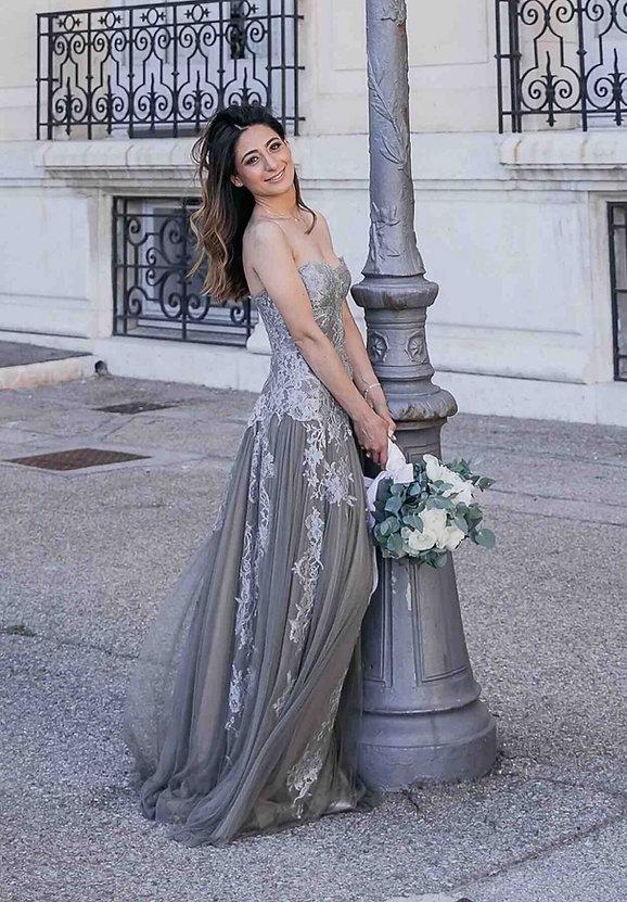 Robe de mariée Victoire bustier en tulle