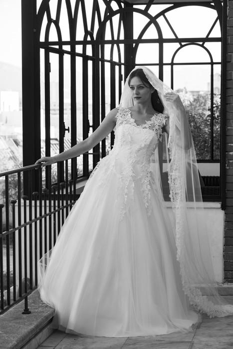 Robe de mariée Daïana en tulle à Marseille