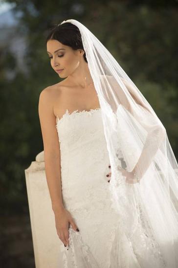 Robe de mariée en tulle à Marseille