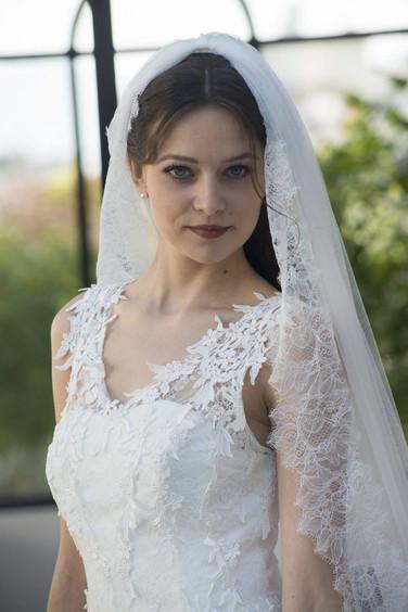 Robe de mariée Daïana style princesse à Marseille