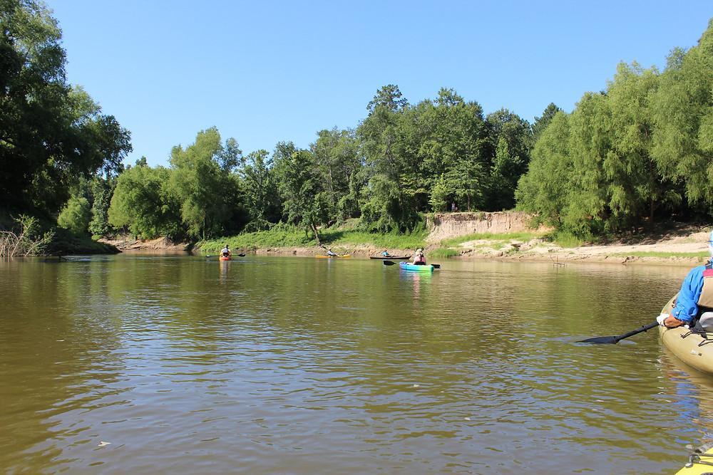 Sabine Sandbar Trail on the Sabine River