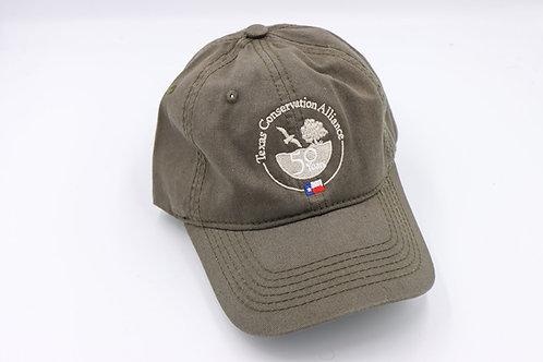 TCA 50th - Dark Green Soft Cap