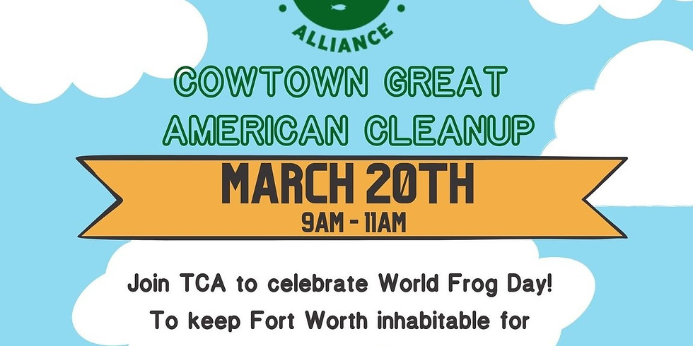 Join Cowtown Great American Cleanup with TCA