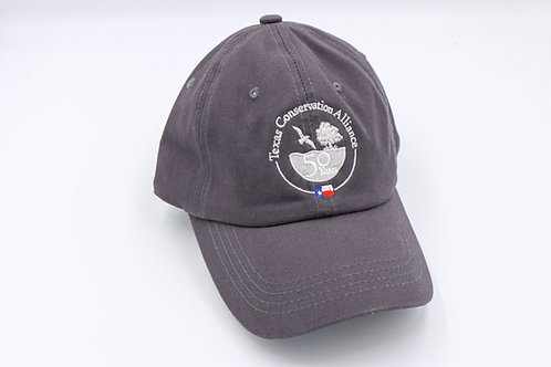 TCA 50th - Dark Gray Soft Cap