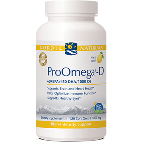 ProOmega-D® Lemon 1000 mg 120 gels