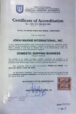 marina accreditation 2018