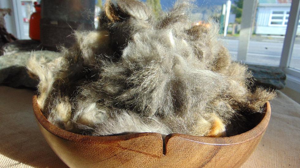 Hand-plucked Taranaki Grey, A Grade
