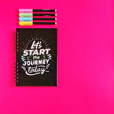 Caderno Criativo Journey