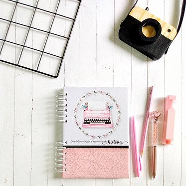 caderno para planejamento de aula