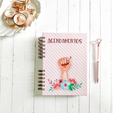 Caderno de agendamento
