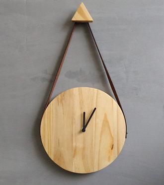 relógio de parede minimalista