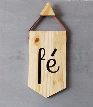 flâmula decorativa madeira