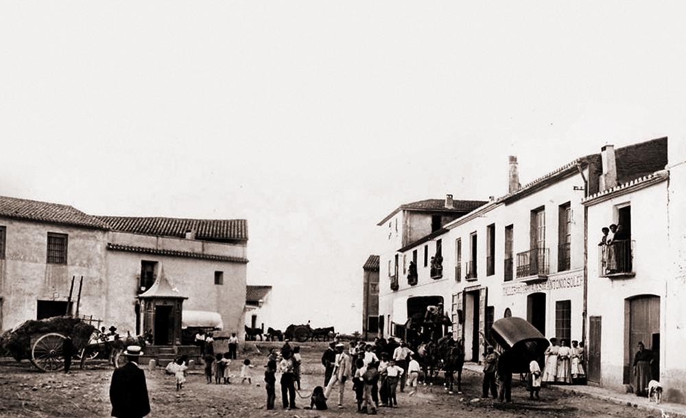 Plaça Valga'm Deu (Plaça Oeste), centre del nostre barri