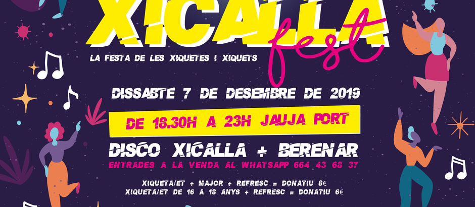 Xicalla Fest: la festa de les xiquetes i xiquets!