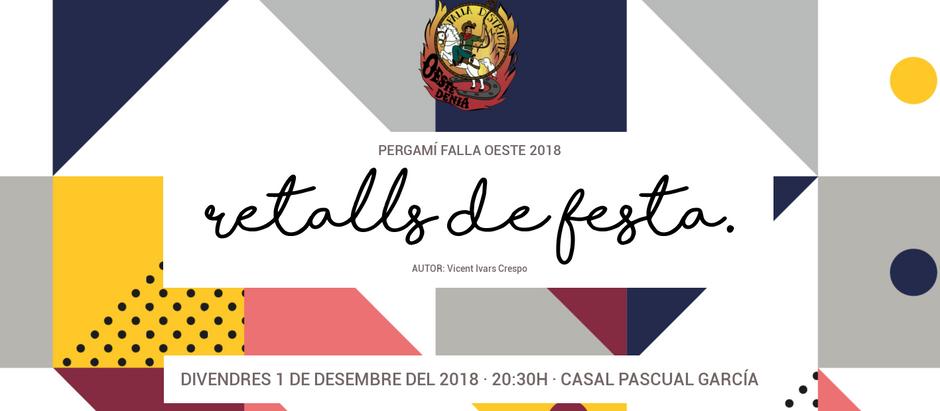 Presentació del Pergamí 2018