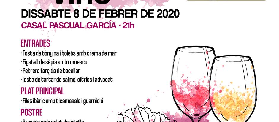 Tast de vins al Casal Pascual García