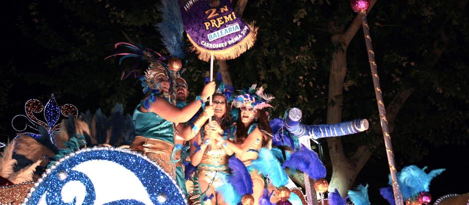 """""""A l'Oeste, Samba!"""" aconsegueix el segon premi de les carrosses 2019"""