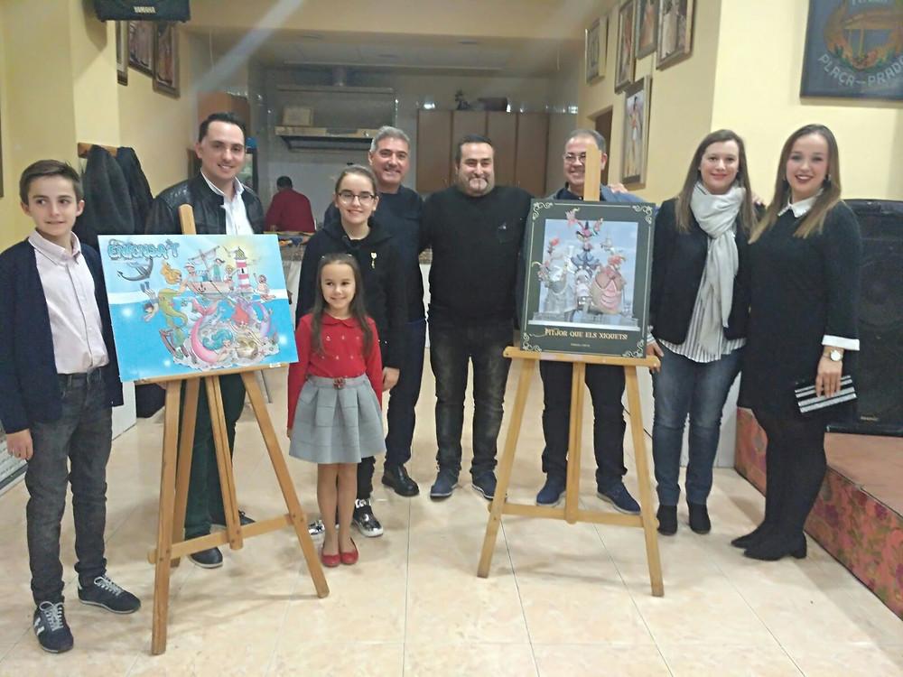 Els càrrecs del Prado junt als nostres càrrecs