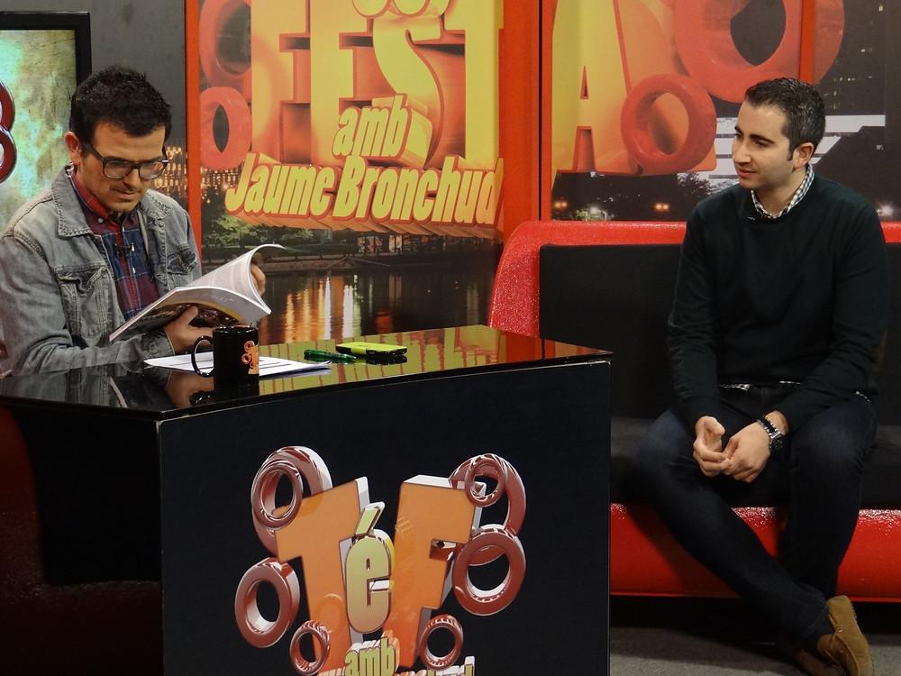 Jaume Bronchud amb Javier Tadeo