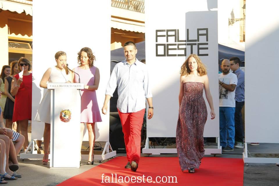 Tania i Rubén en la Passarel·la Oeste 2015