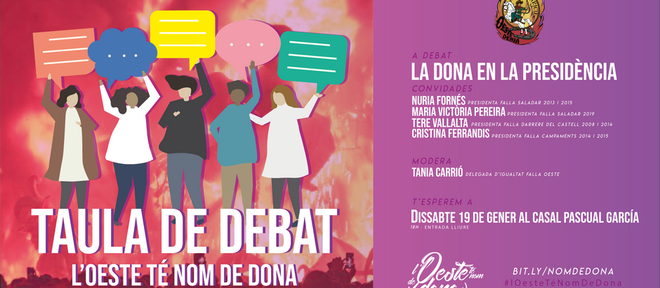 Taula de debat: la dona en la presidència
