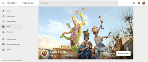 Google +: Falla Oeste