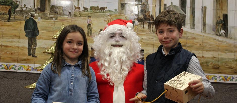 El Pare Noel de visita a l'Oeste!