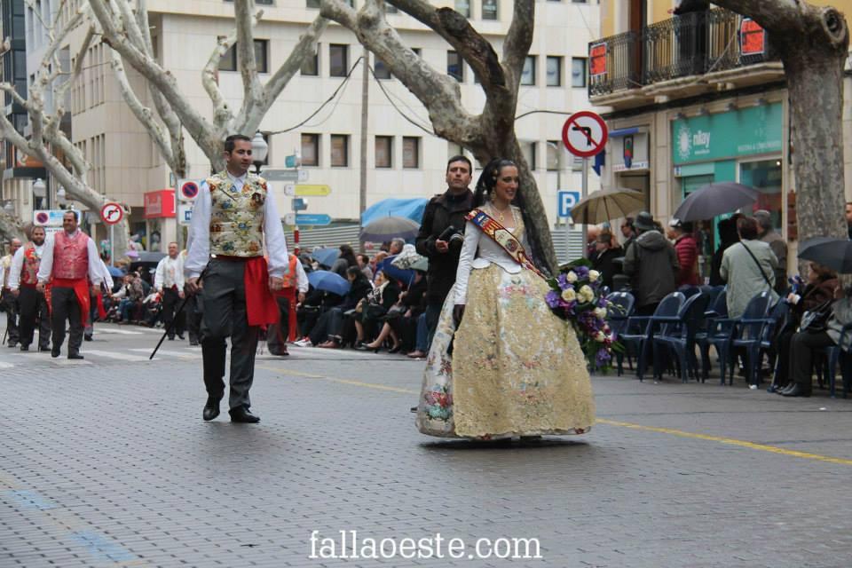 Noelia i Javier en l'Ofrena