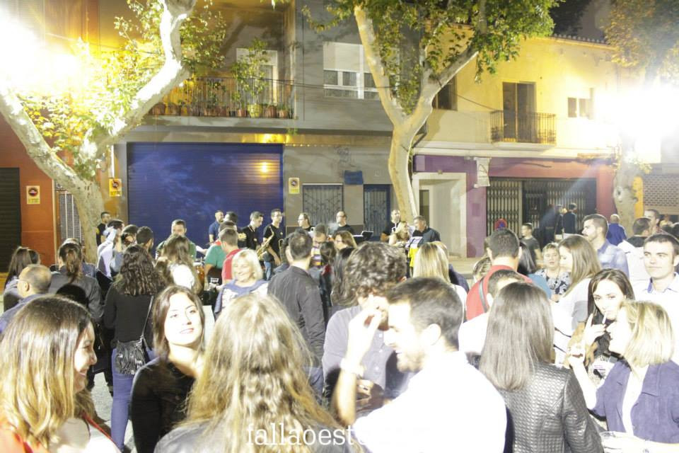 Actuació de la Xaranga Cachorras Band