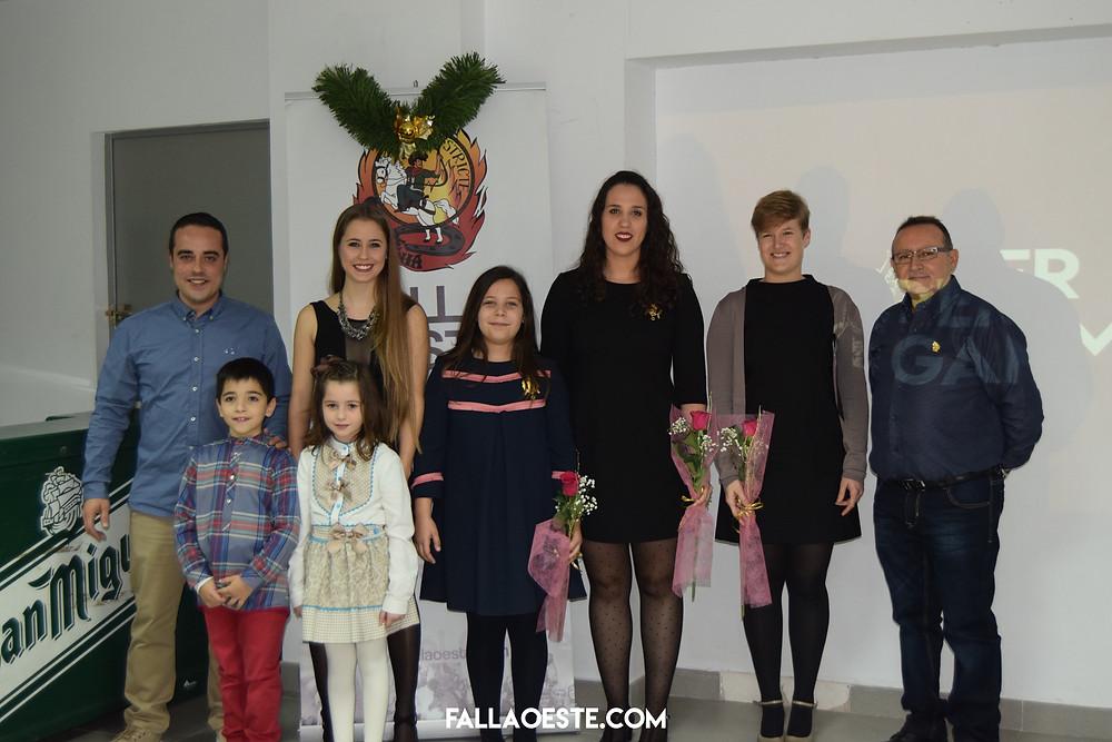 Les FFMM de Dénia en l'acte del Pergamí 2017