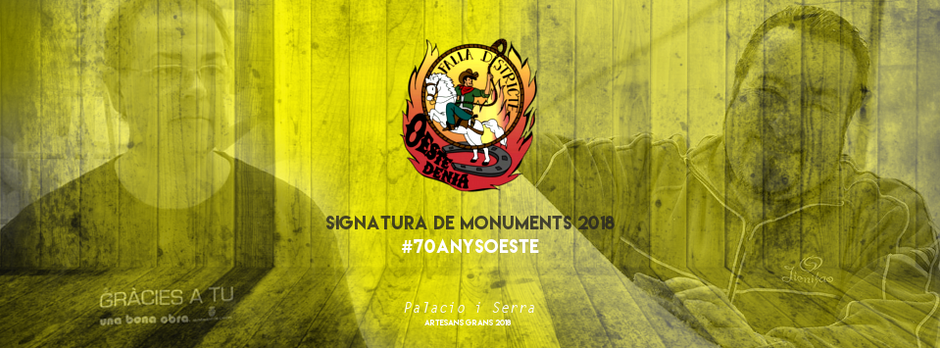 Signatura del monument gran 2018
